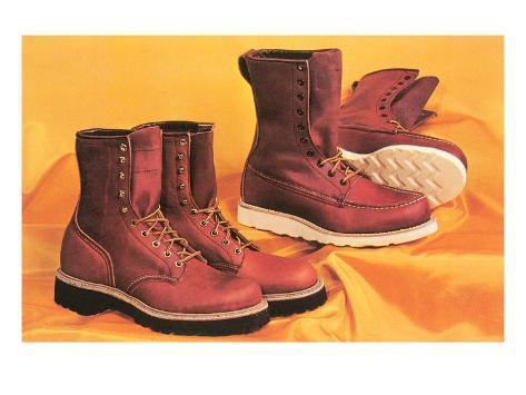 Manly Boots Kunstdruck