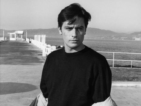 Alain Delon: Melodie En Sous Sol, 1963 Fotografie-Druck