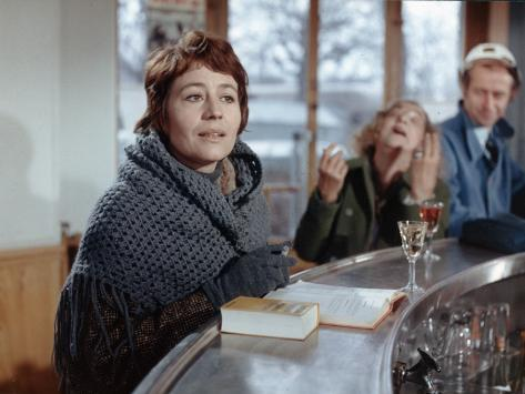 Annie Girardot: Elle Boit Pas, Elle Fume Pas, Elle Drague Pas Mais... Elle Cause !, 1970 Fotografie-Druck