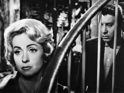 Danielle Darrieux and Michel Auclair: Meurtre En 45 Tours, 1959 Fotografie-Druck