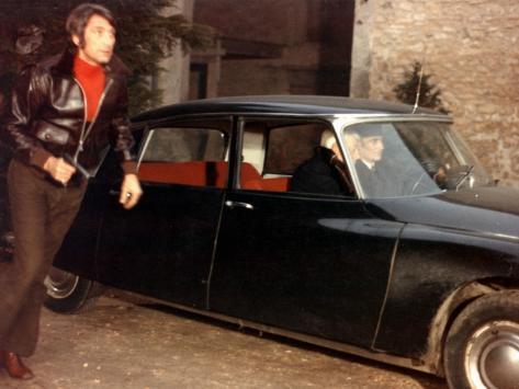 Jean Gabin and Félix Marten: Le Tueur, 1972 Fotografie-Druck