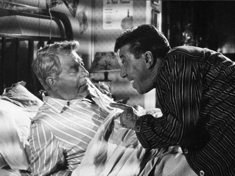 Jean Gabin and Fernandel: L'Âge Ingrat, 1964 Fotografie-Druck