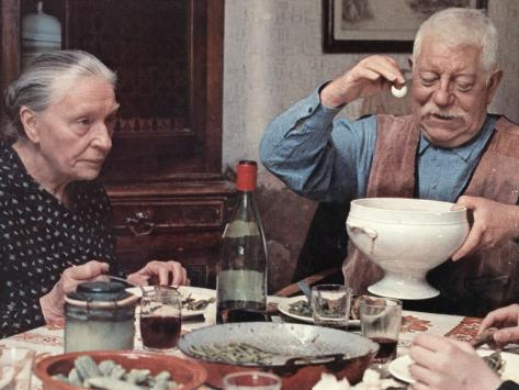 Jean Gabin: L'Affaire Dominici, 1973 Fotografie-Druck