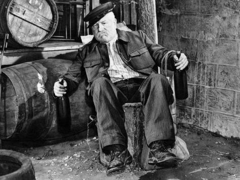 Jean Gabin: Les Vieux de La Vieille, 1960 Fotografie-Druck