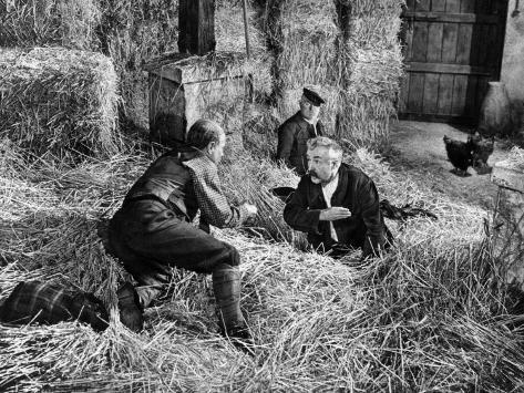 Jean Gabin, Pierre Fresnay and Noël-Noël: Les Vieux de La Vieille, 1960 Fotografie-Druck