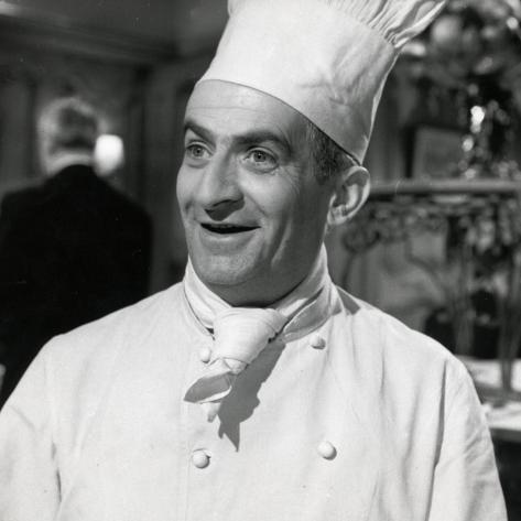 Louis de Funès: Le Gentleman D'Epsom, 1962 Fotografie-Druck