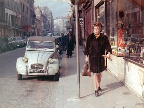 Simone Signoret: Le Chat, 1971 Fotografie-Druck