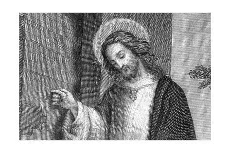 Jesus Christus Giclée-Druck