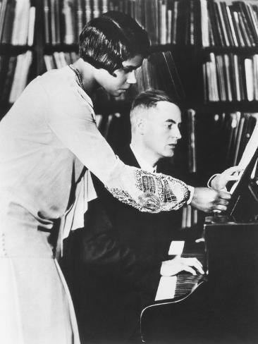Marian Anderson with Her Coach, Prof. Kurt Johnen, in Berlin, 1931 Sonstiges