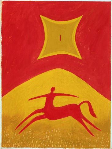 Centaure, 1995 Giclée-Druck