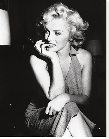 Marilyn Monroe, 1952 Bedruckte aufgespannte Leinwand