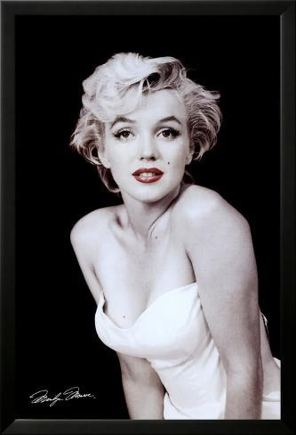 Marilyn Monroe Laminiertes gerahmtes Poster