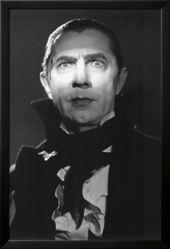 Mark of the Vampire - Dracula (Bela Lugosi) Laminiertes gerahmtes Poster
