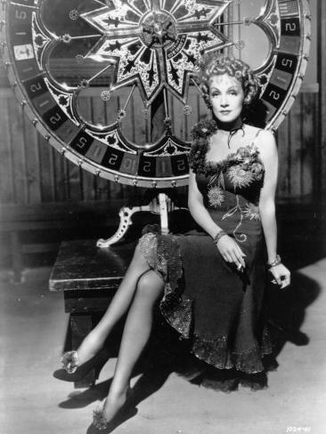 Marlene Dietrich: Destry Rides Again, 1939 Fotografie-Druck