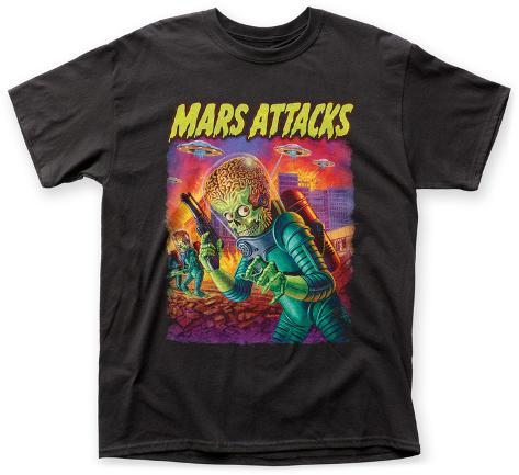 mars attacks invaders from beyond t shirts bei. Black Bedroom Furniture Sets. Home Design Ideas
