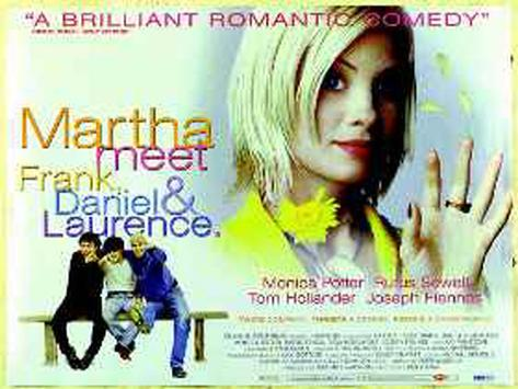 Martha Meets Frank Originalposter