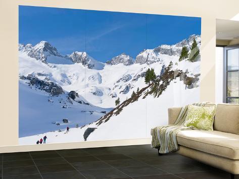Reichenspitze Range, Hohe Tauern, Richterhuette Mountain Hut, Austria Fototapete – groß