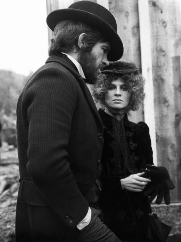 Mccabe And Mrs. Miller, Warren Beatty, Julie Christie, 1971 Foto