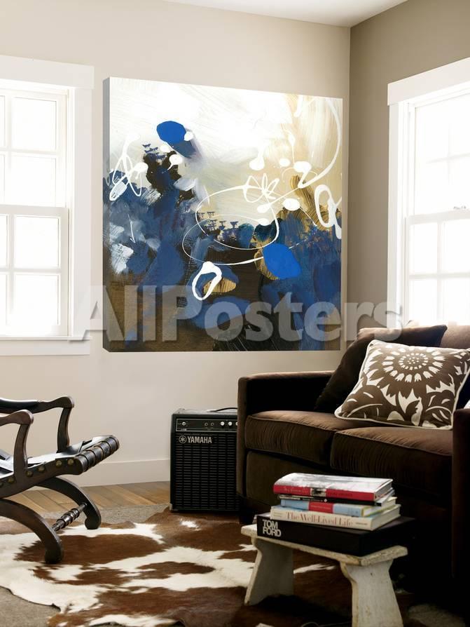 Abstrakte Kunst: Blau Poster von Meejlau bei AllPosters.de