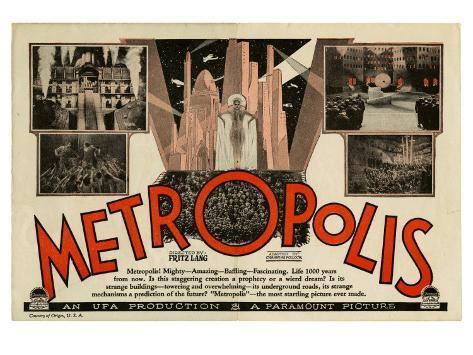 Metropolis, 1926 Kunstdruck