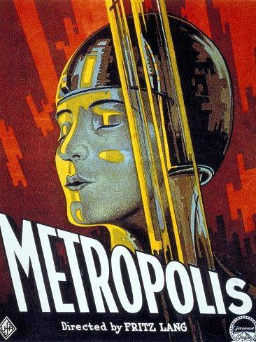 Metropolis, 1927, Directed by Fritz Lang Giclée-Druck