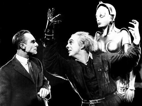 Metropolis, Rudolf Klein-Rogge, Robot, 1927 Foto