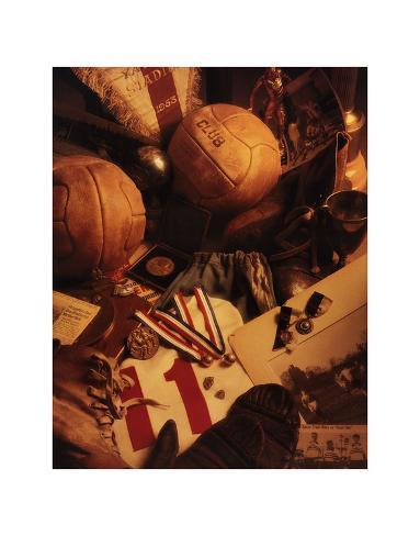 Fußball Kunstdruck
