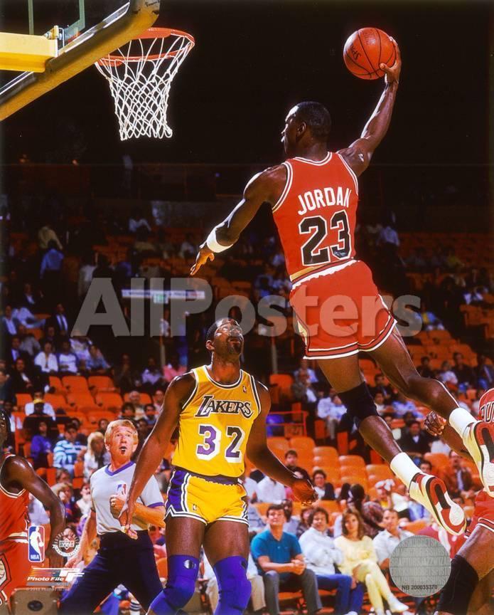 Michael Jordan Action Foto bei AllPosters.de