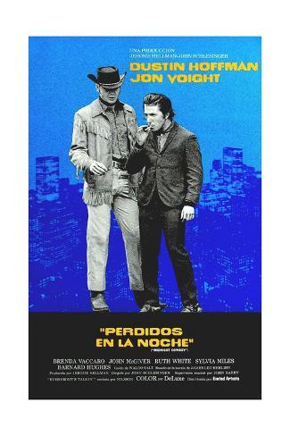 Midnight Cowboy, Jon Voight, Dustin Hoffman, 1969 Giclée-Druck