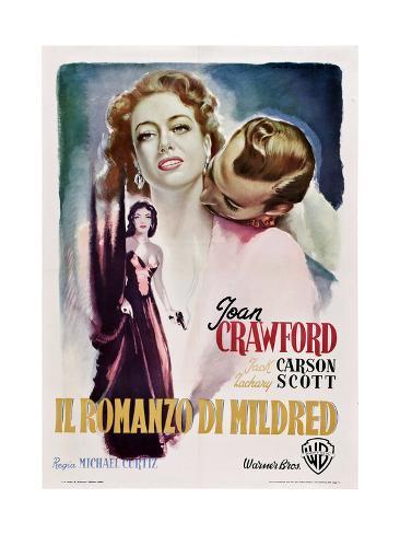 Mildred Pierce, (aka Il Romanzo Di Mildred), 1945 Giclée-Druck