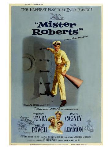 Mister Roberts, 1955 Kunstdruck