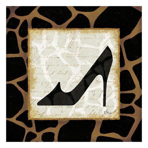 Safari Shoes IV Kunstdruck