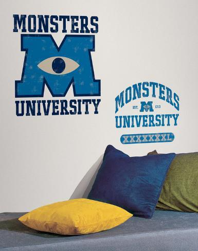 Monsters University Giant Peel & Stick Wall Decals Muursticker