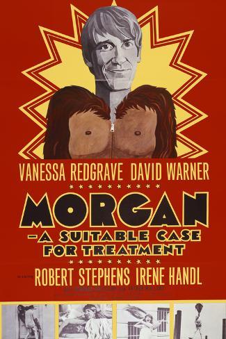 Morgan, a Suitable Case for Treatment Kunstdruck