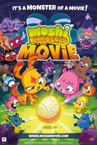 Moshi Monsters - Movie Poster