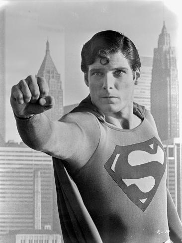 A portrait from Superman. Foto