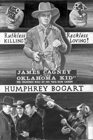 Advertisement for The Oklahoma Kid. Foto
