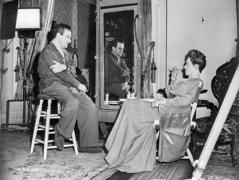 Behind the scenes of The Little Foxes. Foto