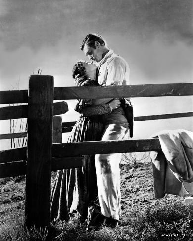Gone With The Wind Couple hugging Foto