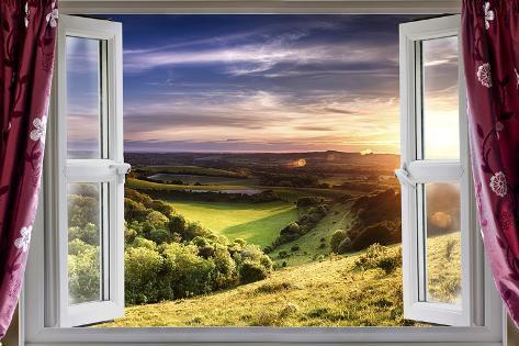 Amazing Window View Poster Van Mreco99 Bij Allpostersnl
