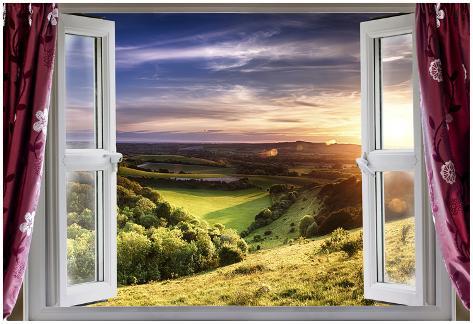 Amazing Window View Posters Van Mreco99 Bij Allpostersnl
