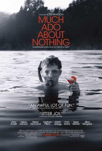 Much Ado About Nothing Movie Poster Neuheit