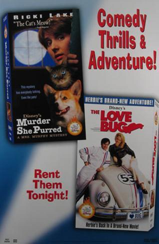Murder She Purred And The Love Bug Poster