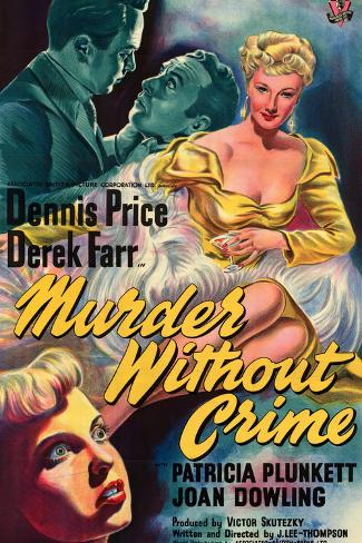 Murder Without Crime Kunstdruck