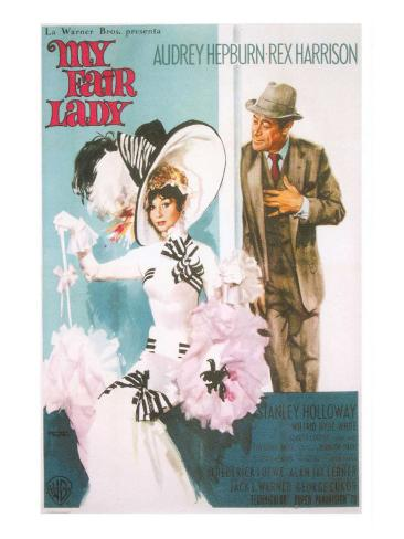 My Fair Lady, 1964 Kunstdruck