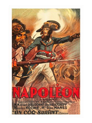 Napoleon Kunstdruck