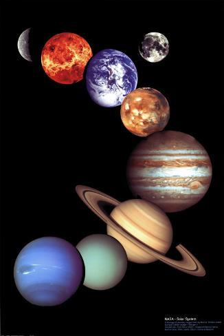 NASA: Sonnensystem Poster