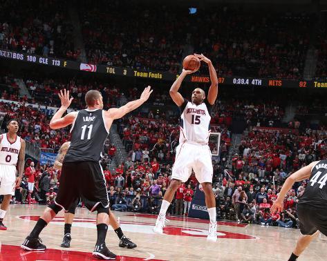 Brooklyn Nets v Atlanta Hawks- Game One Foto