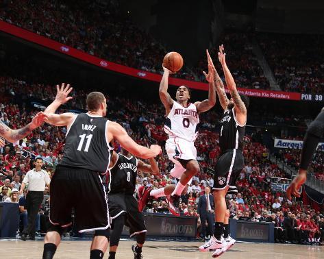 Brooklyn Nets v Atlanta Hawks- Game Two Foto