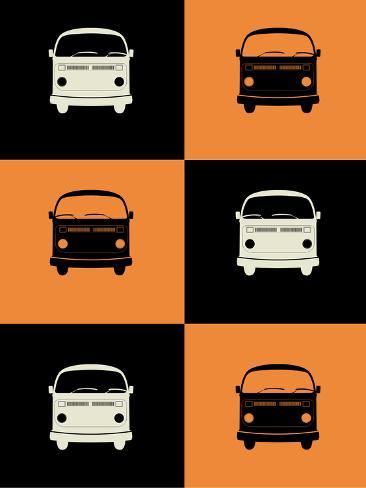 Bus Poster Plastikschild